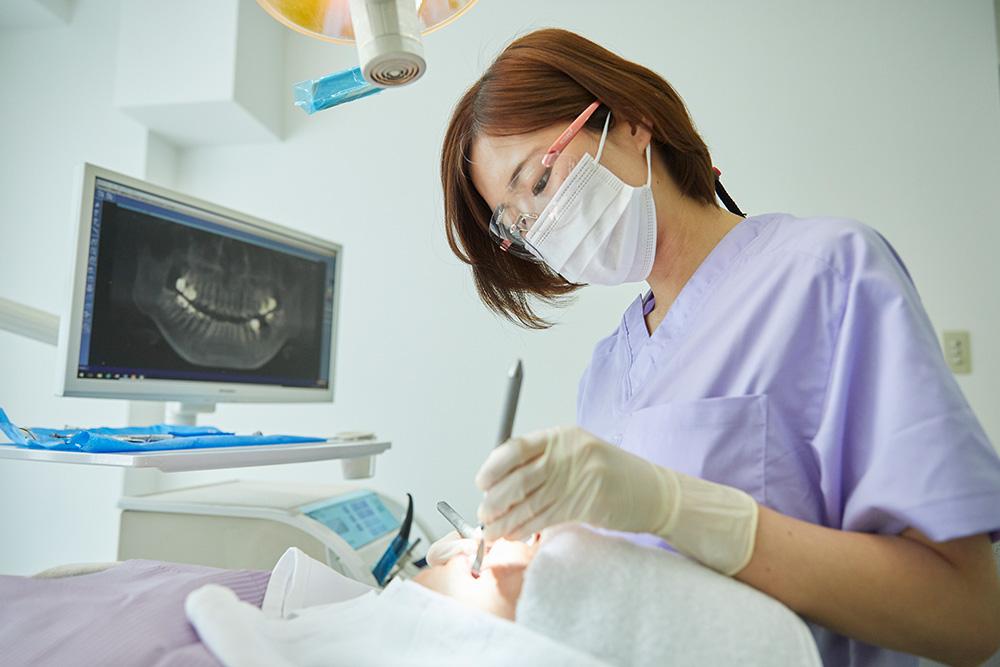 歯科健診・予防治療