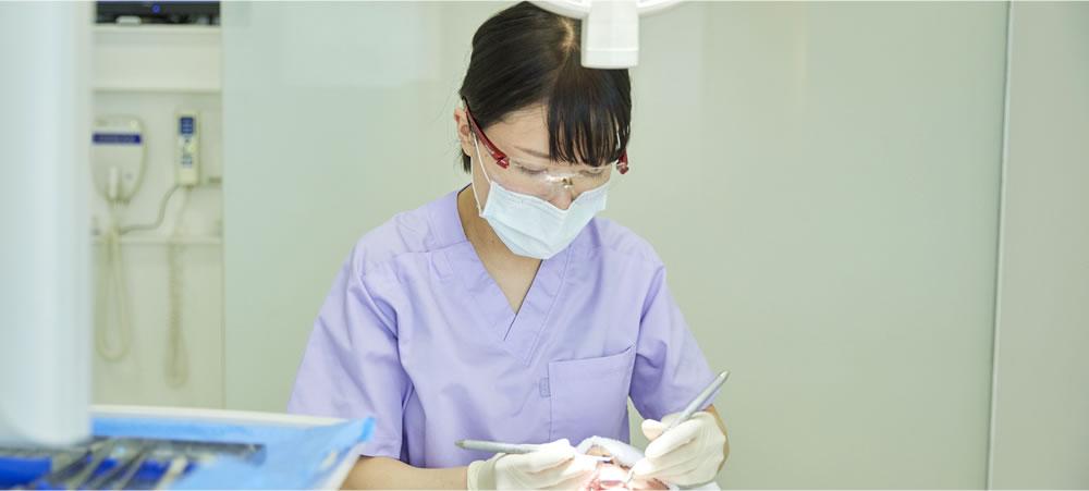 歯を極力削らない治療