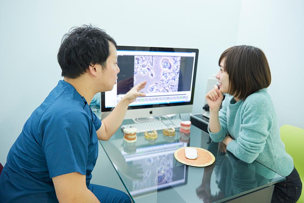 歯周病の早期発見・早期治療